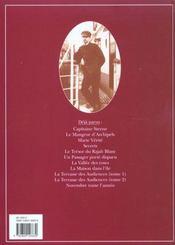 Théodore Poussin T.11 ; novembre toute l'année - 4ème de couverture - Format classique