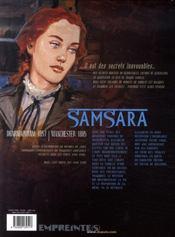 Secrets Samsara T.1 - 4ème de couverture - Format classique