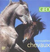 Incroyables chevaux - Intérieur - Format classique