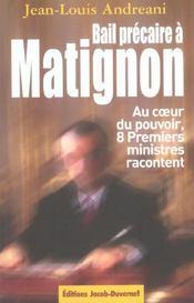 Bail Precaire A Matignon - Intérieur - Format classique