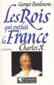 Charles X Br - Intérieur - Format classique