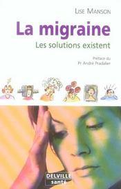 Migraine Les Solutions Existent - Intérieur - Format classique