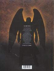 Trois Et L'Ange T.1 ; Les Ephemeres - 4ème de couverture - Format classique