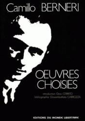 Camillo Berneri, Oeuvres Choisies - Couverture - Format classique