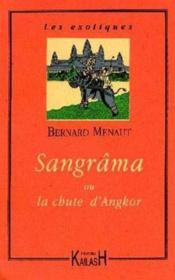 Sangrana Ou La Chute D'Angkor - Couverture - Format classique