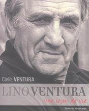 Lino Ventura ; une leçon de vie - Intérieur - Format classique