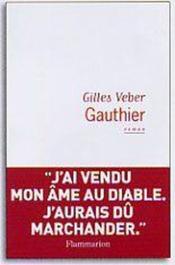 Gauthier. - Couverture - Format classique
