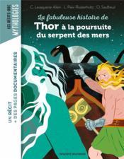 La fabuleuse histoire de Thor à la poursuite du serpent des mers - Couverture - Format classique