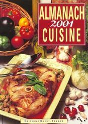 Almanach de la cuisine 2001 - Intérieur - Format classique