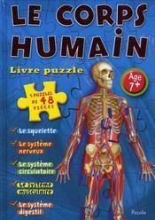 Livre puzzle/le corps humain - Intérieur - Format classique