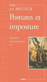Postures Et Impostures - Intérieur - Format classique