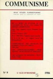 C9 Communisme 1986 - Couverture - Format classique