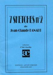 Sept sketches t.2 ; recueil de sketches - Intérieur - Format classique