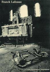 Oratorio pour oradour - Couverture - Format classique