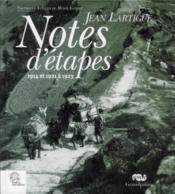 Notes d'etapes 1914 et 1921 a 1923 - Couverture - Format classique