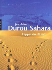 Sahara ; L'Appel Du Desert - Intérieur - Format classique
