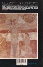 Les Premiers Christianismes - 4ème de couverture - Format classique