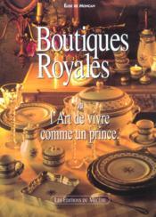 Boutiques Royales - Couverture - Format classique