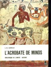 L'Acrobate De Minos - Couverture - Format classique
