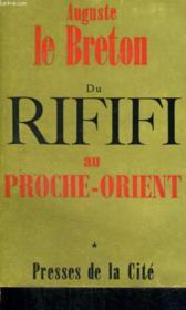 Du Rififi Au Proche-Orient, Tome 1 - Couverture - Format classique