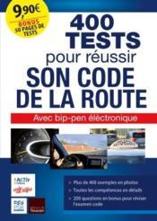 Tests code de la route (édition 2019) - Couverture - Format classique