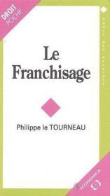 Le franchisage - Couverture - Format classique
