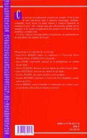 Analyse Financiere Et Gestion Des Groupes - 4ème de couverture - Format classique