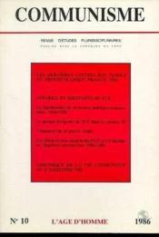C10 Communisme 1986 - Couverture - Format classique