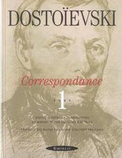 Correspondance t.1 - Intérieur - Format classique