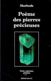 Poeme Des Pierres Precieuses - Couverture - Format classique