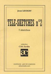 Tele sketches t.2 ; recueil de sketches - Intérieur - Format classique
