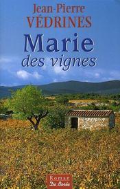 Marie des vignes - Intérieur - Format classique