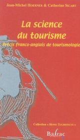 La science du tourisme (fran/ang) - Intérieur - Format classique