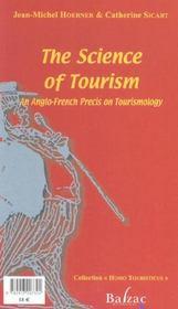 La science du tourisme (fran/ang) - 4ème de couverture - Format classique