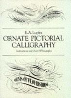 Ornate pictorial calligraphy - Couverture - Format classique