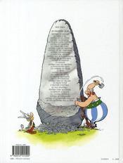 Astérix T.18 ; les lauriers de César - 4ème de couverture - Format classique