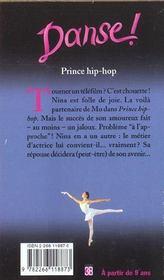 Danse t.27 ; prince hip-hop - 4ème de couverture - Format classique