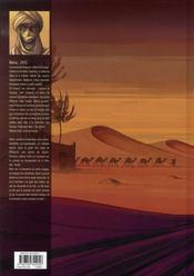 Aarib t.1 ; les yeux de leïla - 4ème de couverture - Format classique
