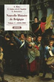 Nouvelle histoire de la belgique vol 1 - Couverture - Format classique