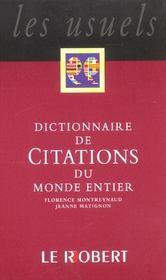 Citations du monde poche - Intérieur - Format classique