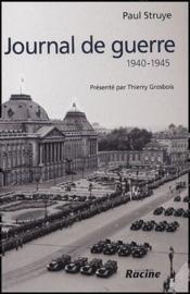 Journal de guerre ; 1940-1945 - Couverture - Format classique