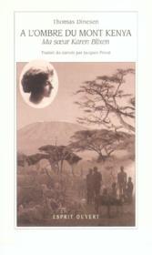 A L'Ombre Du Mont Kenya - Couverture - Format classique