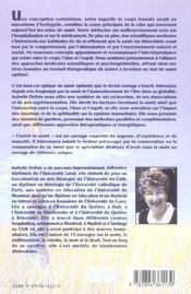 Choisir La Sante - Chemins De Guerison - 4ème de couverture - Format classique
