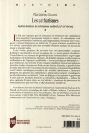 Les catharismes ; modèles dissidents du christianisme médiéval (XII-XIII siècles) - 4ème de couverture - Format classique