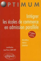 Intégrer les écoles de commerce en admission parallèle (4e édition - Intérieur - Format classique