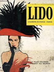 Brochure - Lido Champs-Elysees Paris - Le Plus Celebre Cabaret Du Monde - Couverture - Format classique