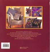 Coussins De Reve: Comment Les Creer Et Les Decorer - 4ème de couverture - Format classique