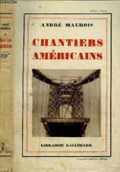 Chantier Americains - Couverture - Format classique