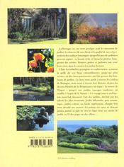 La Bretagne des jardins - 4ème de couverture - Format classique