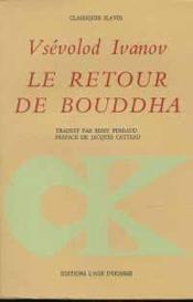 Retour De Bouddha (Le) - Couverture - Format classique